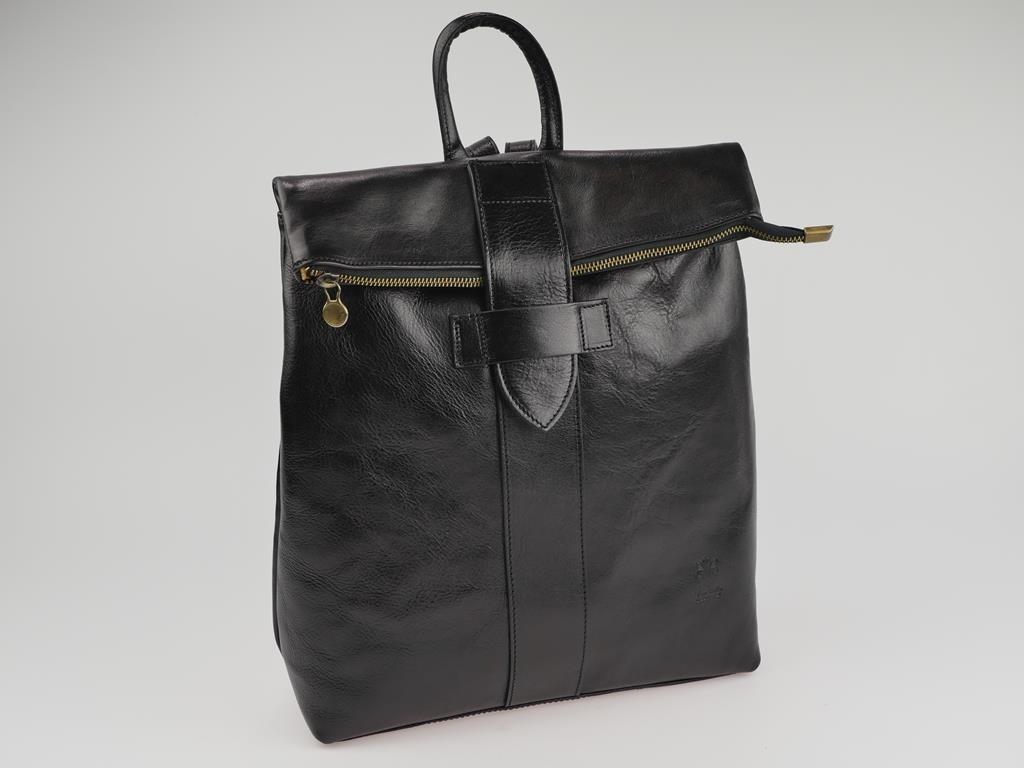 Plecak damski ze skóry LICENZA - możliwość przekształcenia w torbę do ręki