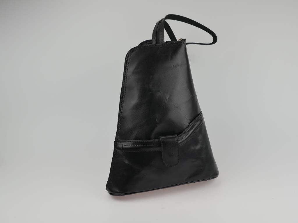 Plecak damski ze skóry MURGE - możliwość przekształcenia w torbę do ręki lub na ramię