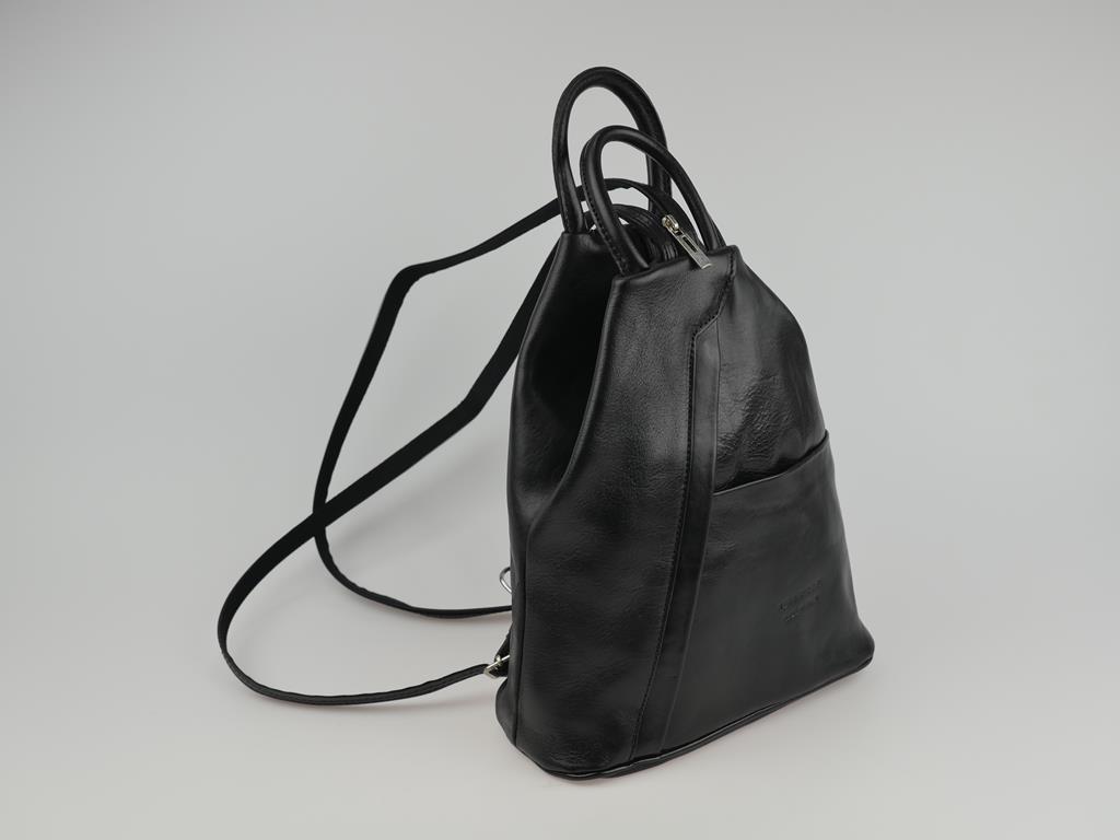 Plecak damski ze skóry LARINO - możliwość przekształcenia w torbę do ręki lub na ramię