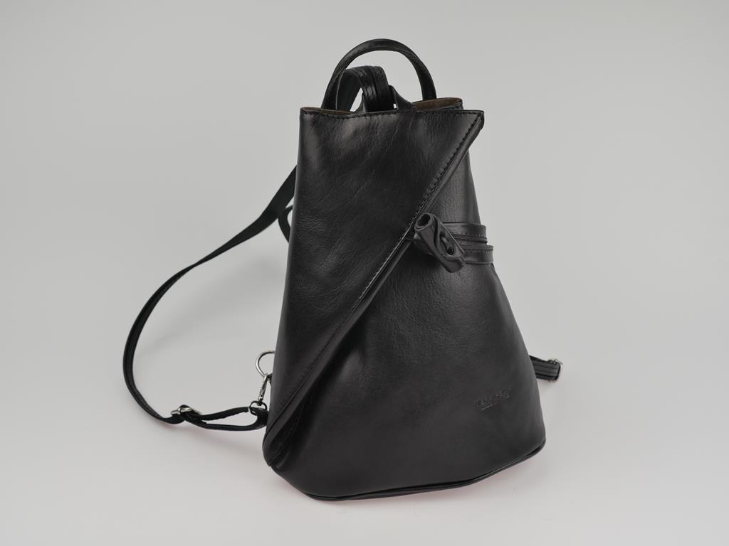 Plecak damski ze skóry ATESSA - możliwość przekształcenia w torbę do ręki lub na ramię